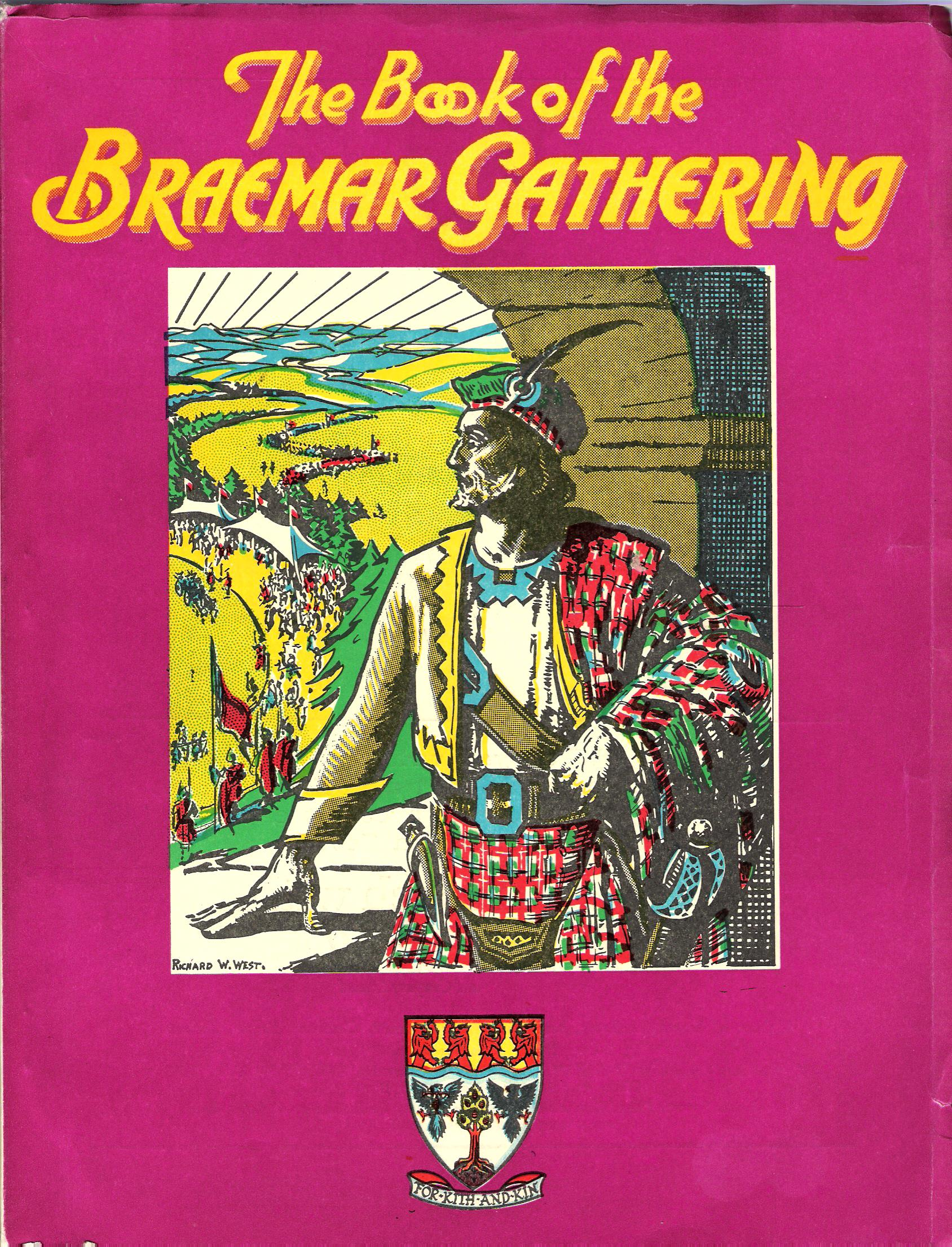 Image for The Book of the Braemar Gathering, 1975.