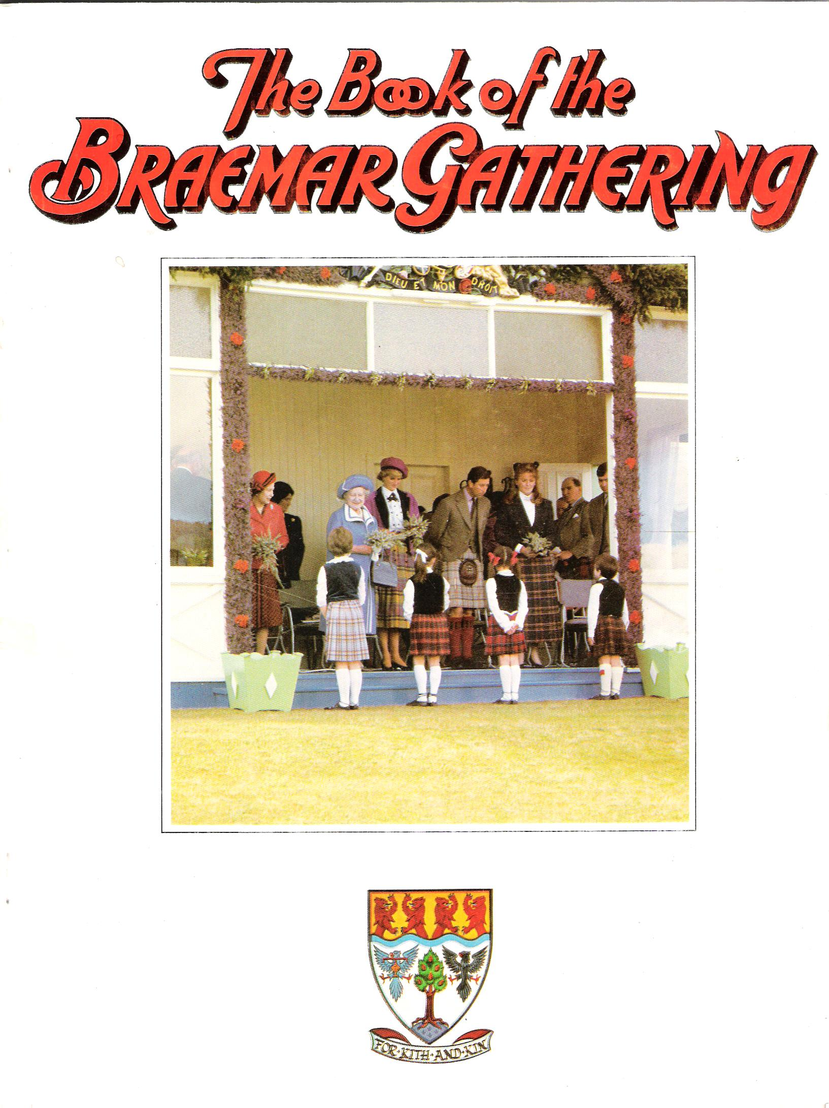 Image for The Book of the Braemar Gathering, 1987.