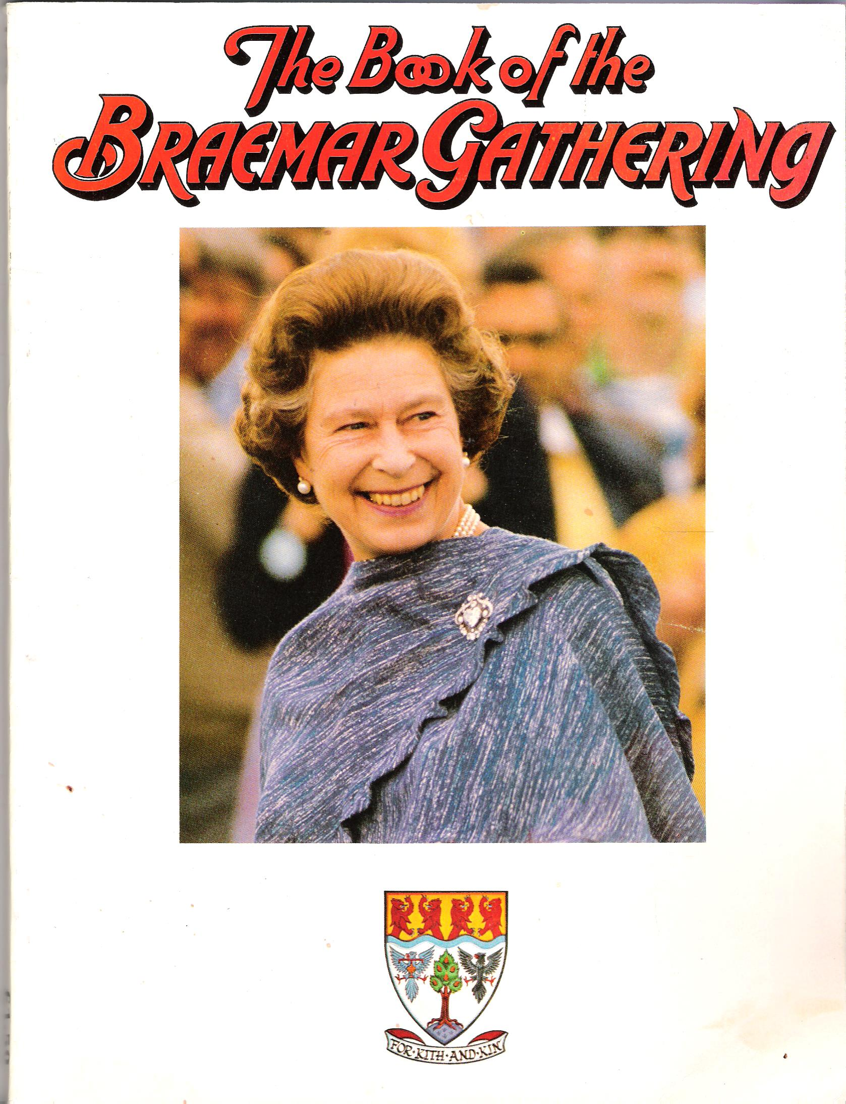 Image for The Book of the Braemar Gathering, 1986.