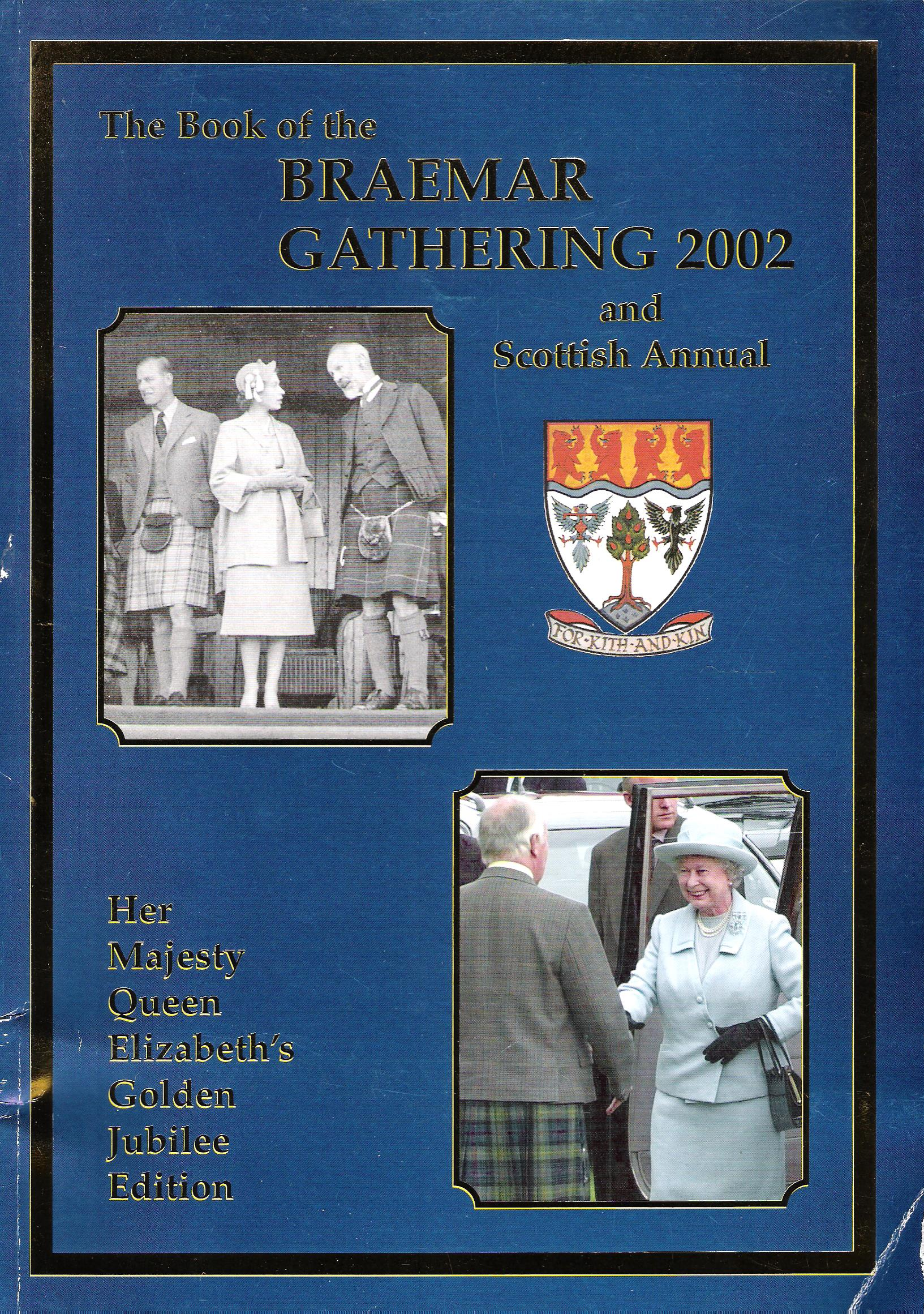 Image for The Book of the Braemar Gathering and Scottish Annual, 2002.