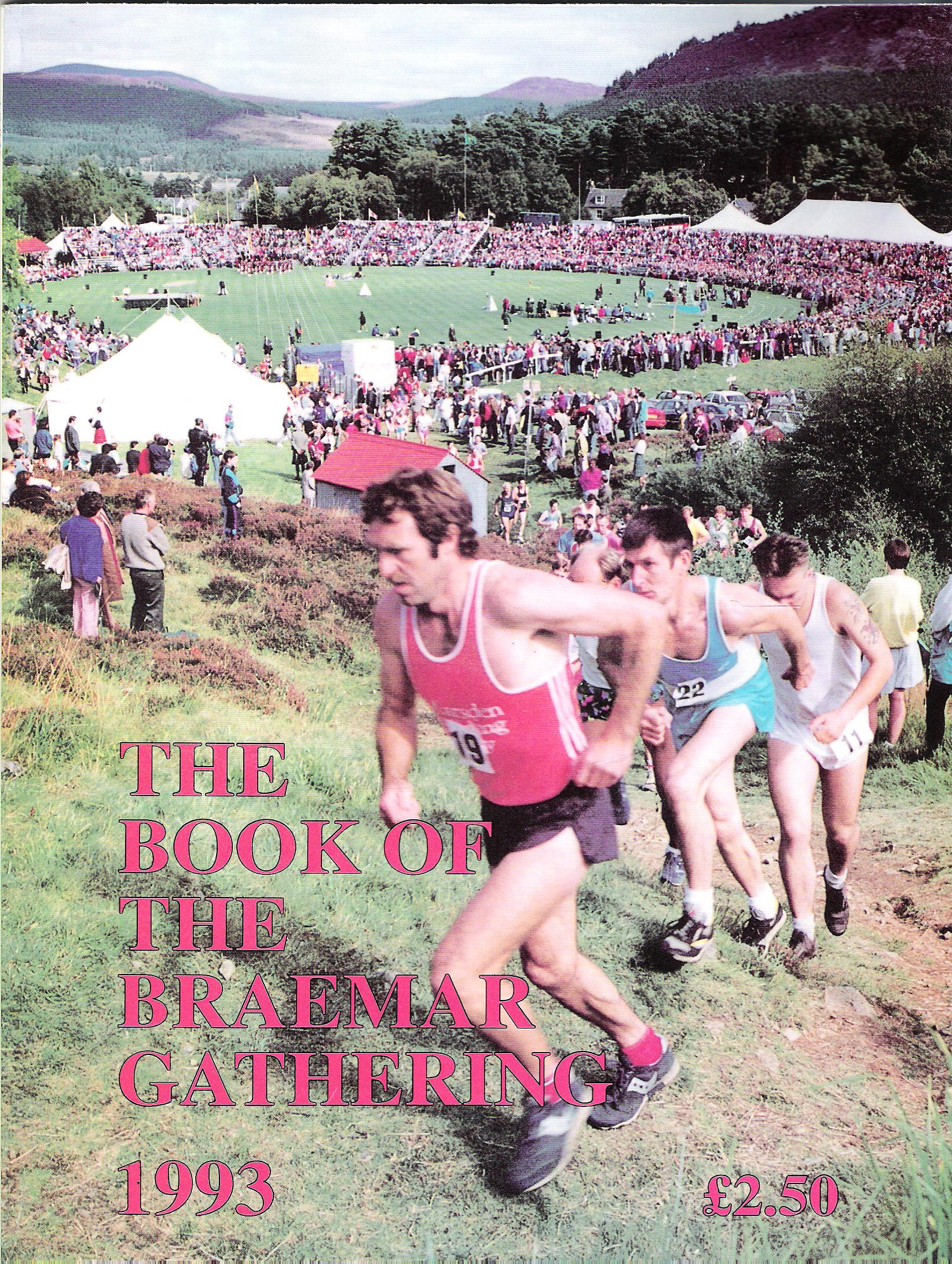 Image for The Book of the Braemar Gathering and Scottish Annual 1993.