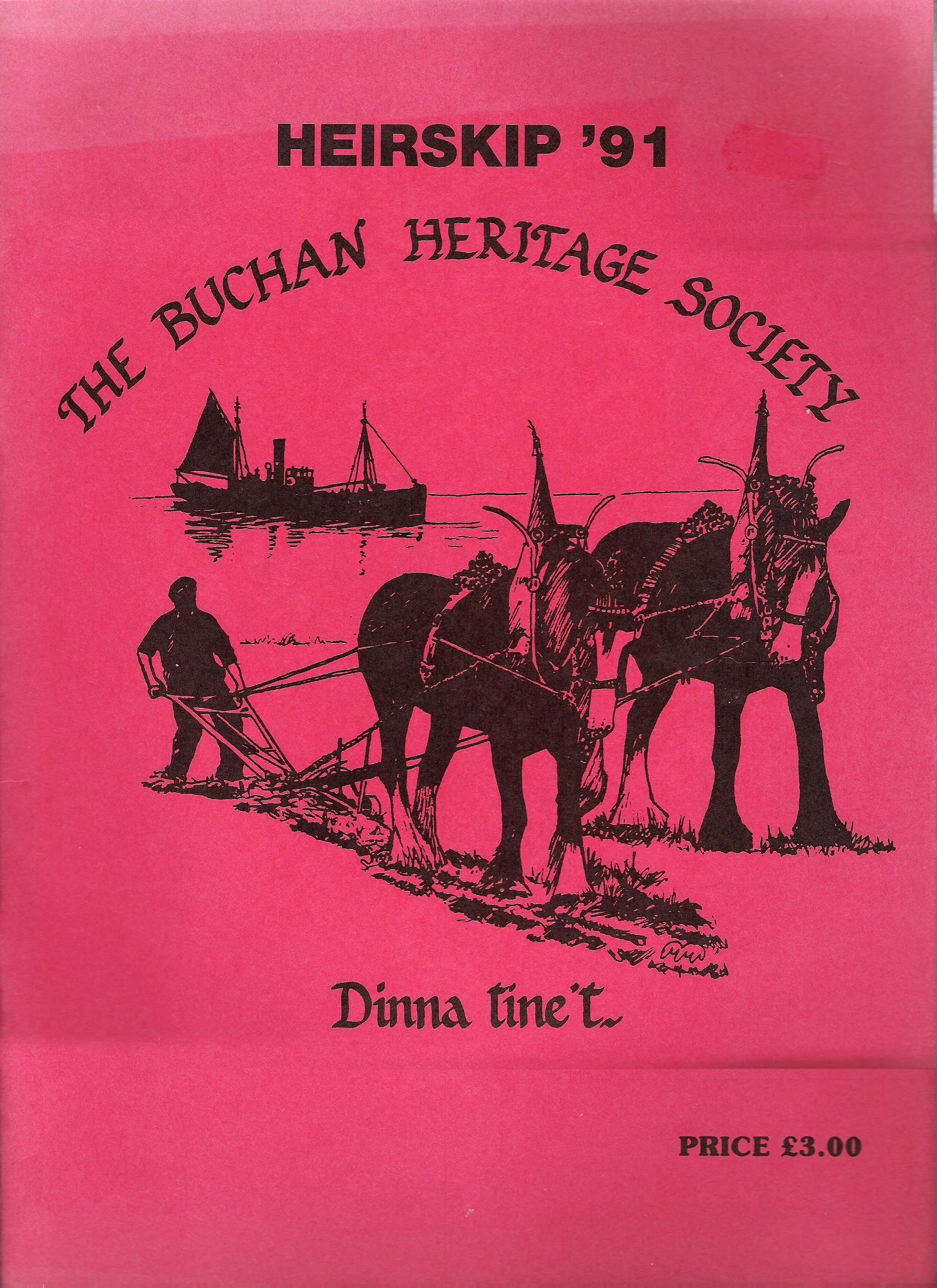 Image for Heirskip '91: The Buchan Heritage Society.