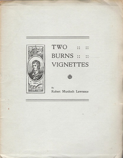 Image for Two Burns Vignettes.
