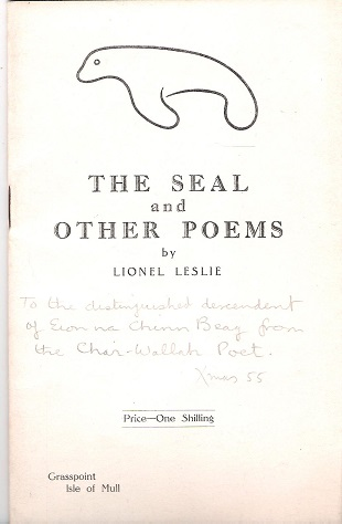 Image for The Seal and Other Poems.