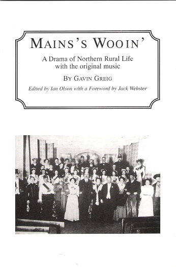 Image for Main's Wooin': A Drama of Northern Rural Life with the original music.