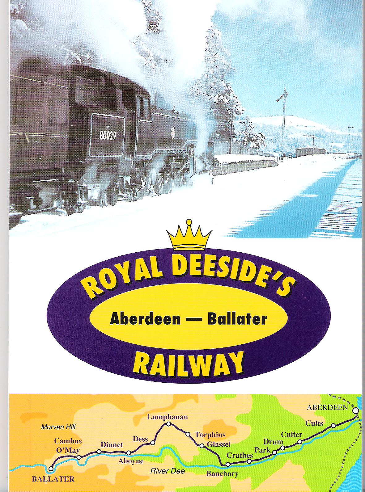 Image for Royal Deeside's Aberdeen-Ballater Railway.
