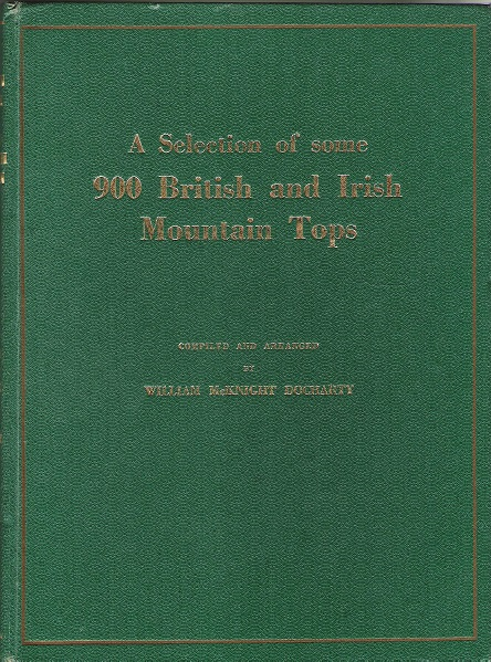 Image for A Selection of some 900 British and Irish Mountain Tops.