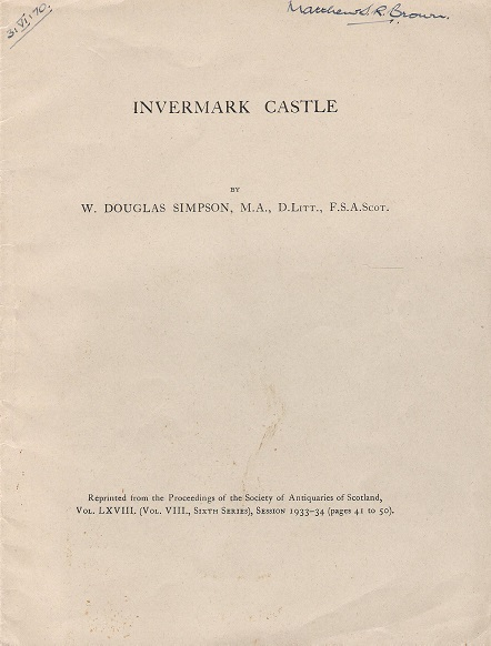 Image for Invermark Castle.