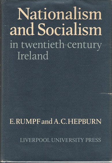 Image for Nationalism and Socialism in Twentieth-Century Ireland.