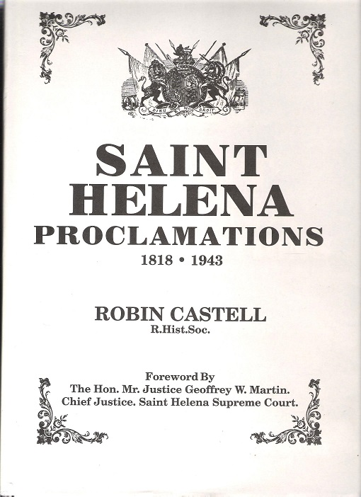 Image for Saint Helena Proclamations 1818-1943.