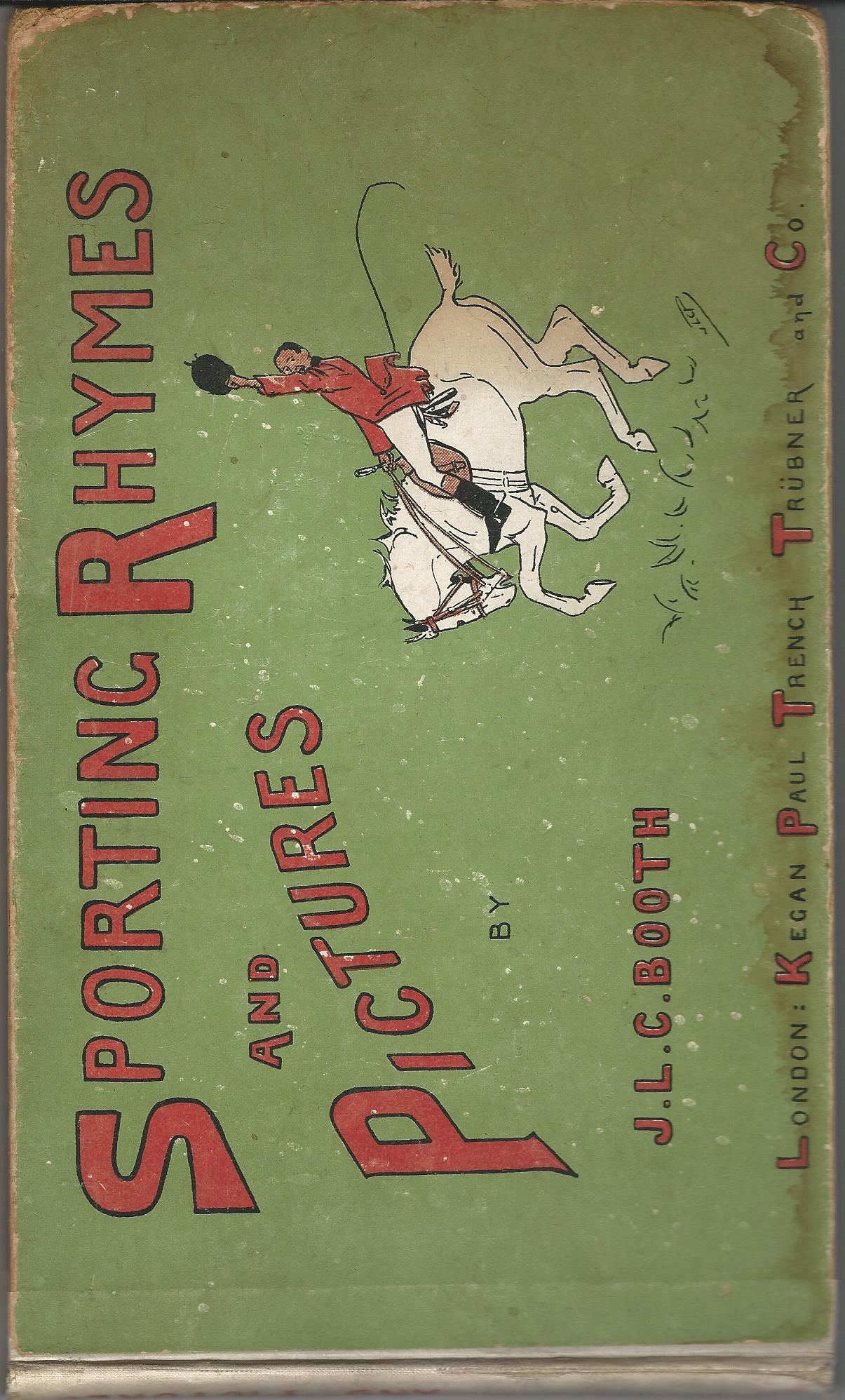 Image for Sporting Rhymes and Pictures.
