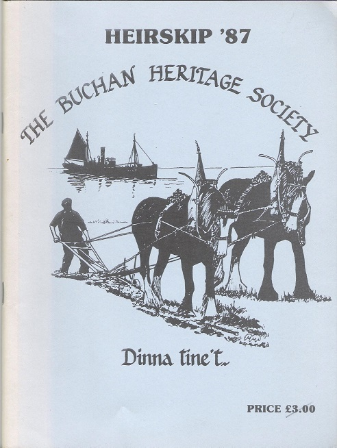 Image for Heirskip '87: The Buchan Heritage Society.
