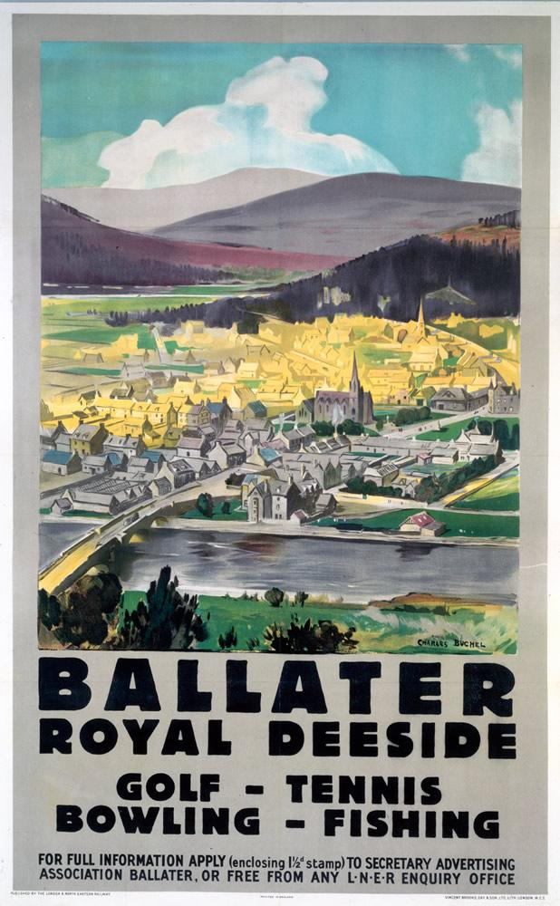 Image for Ballater Railway Print