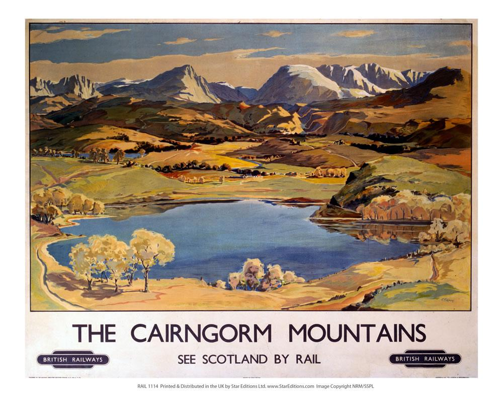 Image for Cairngorm Railway Print